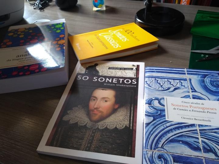 """Poema: """"Soneto de Celebração ao Shakespeare"""""""